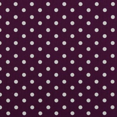 04949007 Baumwolle Stoff Punkte Dots lila