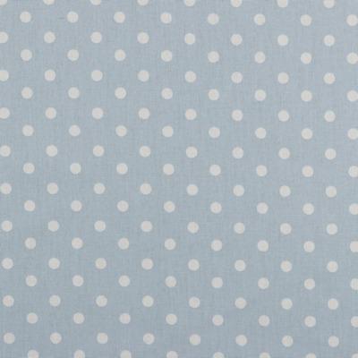 04949020 Baumwolle Stoff Punkte Dots hellblau