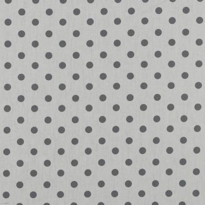04949113 Baumwolle Stoff weißgrundig Punkte Dots