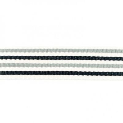 20141 mm Gurtband Baumwolle natur hellgrau