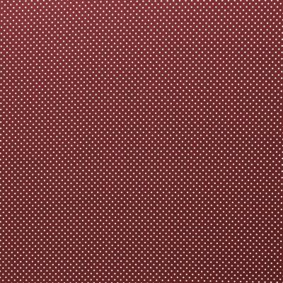 343966980048 Baumwolle Stoff Punkte Dots bordeaux