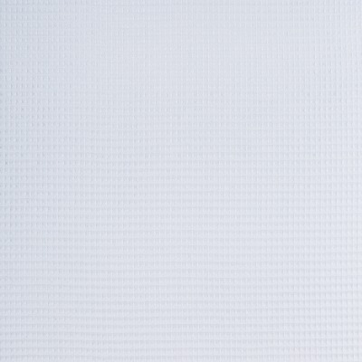 344014440071 Waffelpique Stoff Baumwolle hellblau weich