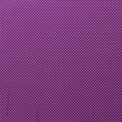 344435230053 Baumwolle Stoff Punkte Dots violett