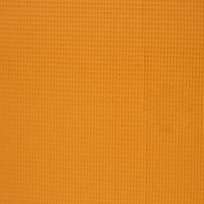 344454380036 Waffelpique Stoff Baumwolle senf weich