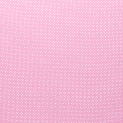 344536840014 Baumwolle Stoff Punkte Dots hellrosaweiss