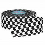 4028782041550 30 mm Gurtband schwarz weiss