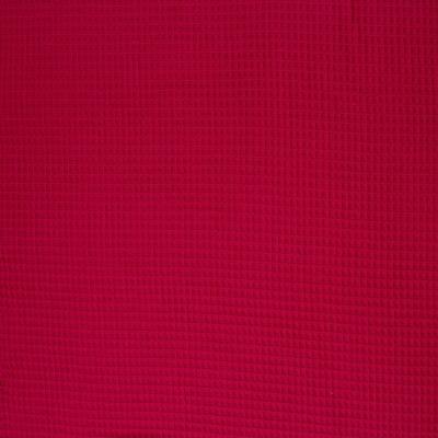 50292 Waffelpique Stoff Baumwolle fuchsia weich
