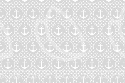 60928 Jersey Anker Meer See Maritim Sterne hellgrau