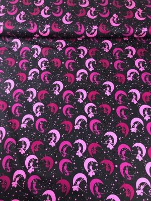 61014 Jersey Stretch Malin Elfen Feen Girls pink rosa grau