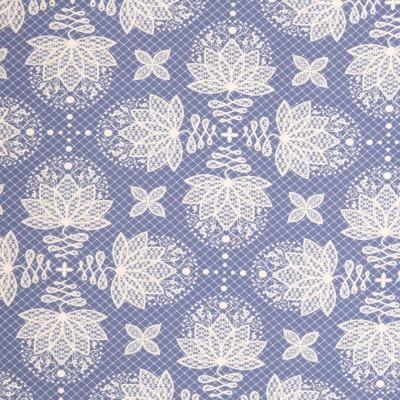 61094 Jersey Lycklig Design Swafing Lotus Dream blau