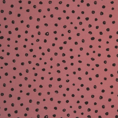 61250 Jersey Stretch Punkte Dots beere