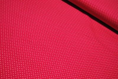 60978 Jersey Stretch Stoff Mini Dots pink weiss