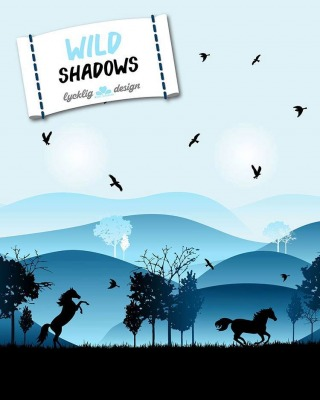 70505 Wild Shadows by Lycklig Design