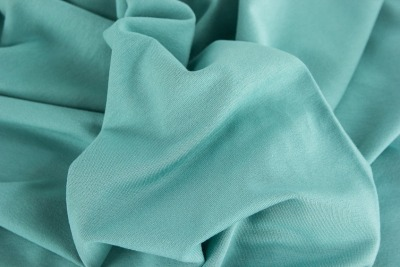 70514 French Terry Sommersweat unangerauht dusty mint