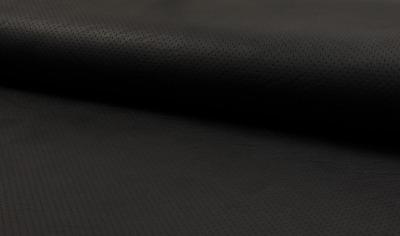 80120 Kunstleder schwarz matt edel zart