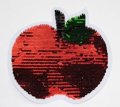Apfel rot / grün zum aufnähen