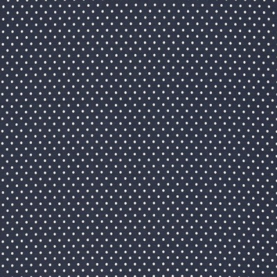 73796000850 Jersey Stretch Punkte Dots marine