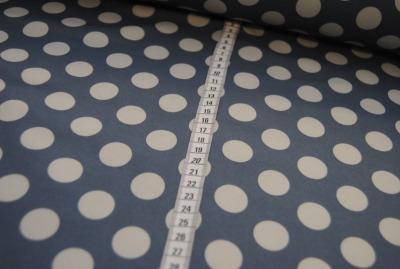 7600 Outdoorstoff Softshell grau grau Punkt Dots