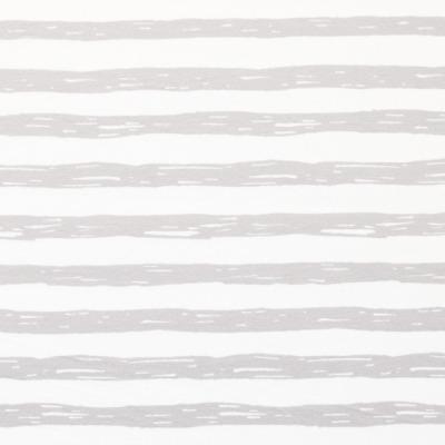60627 Jersey Stretch Ringel Streifen hellgrau weiß Sommer