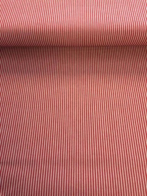 80071 EDLER Jeans - 2-farbig rot weiss Stripes