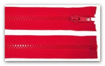 20300 Reißverschluss rot 100cm teilbar für Jacken
