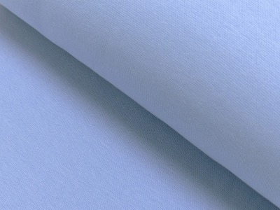 60749 Bündchen Bund hellblau uni im
