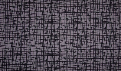 60780 Jersey Streifen kreuz und quer grau schwarz