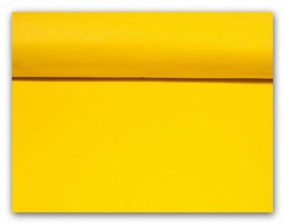 50125 Stoff Baumwolle gelb uni