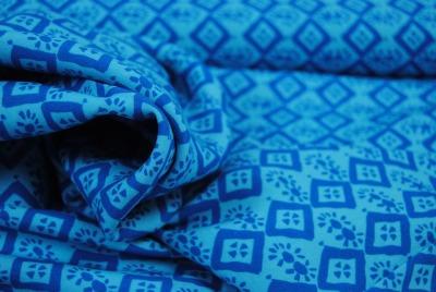 50145 Viscose ganz leicht Hanna blau türkis