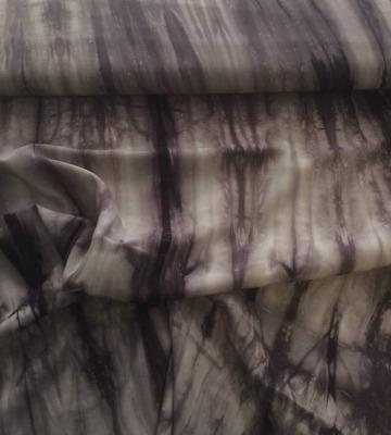 50163 Viscose ganz leicht tie dyed-Technik