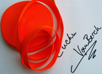 3113 30 mm Gurtband orange