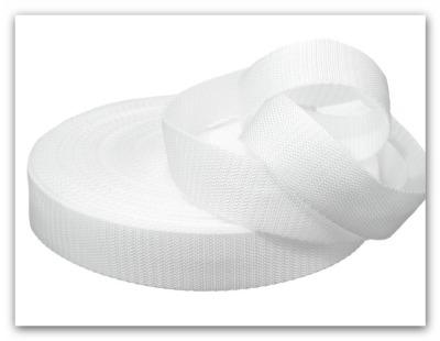 20021 30 mm Gurtband weiß