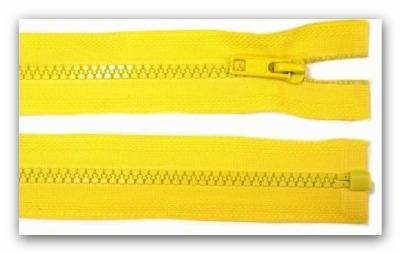 20185 Reißverschluss gelb 30cm teilbar für Jacken