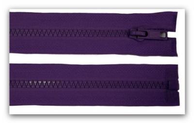 20224 Reißverschluss lila 60cm teilbar für Jacken