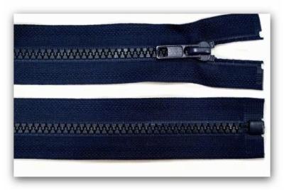 20268 Reißverschluss dunkelblau 75cm teilbar