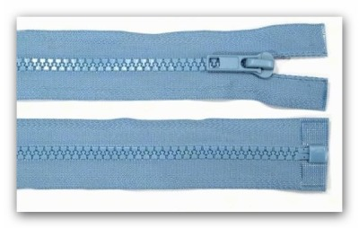 20294 Reißverschluss mittelblau 95cm teilbar für Jacken
