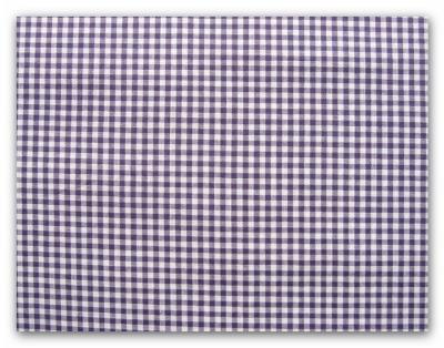 5222 Stoff Baumwolle Vichy klein violett