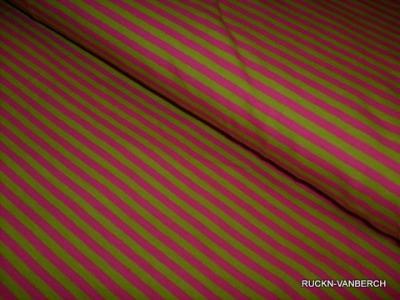 Jersey Stretch Ringel streifen apfelgrün pink