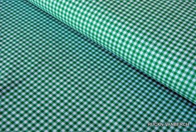 5367 Stoff Baumwolle Vichy klein grün