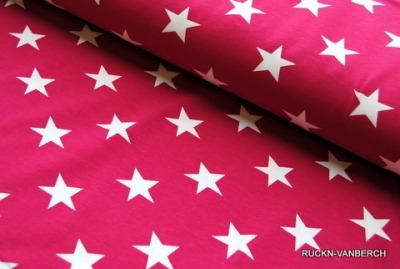 6371 Jersey Stretch Vicente Sterne pink weiß