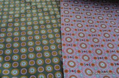 5091 Lia Baumwolle grau Kombi Dots
