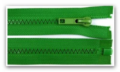 20242 Reißverschluss grün 65cm teilbar für Jacken