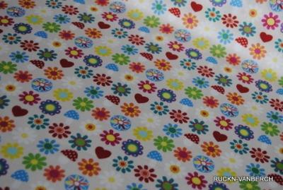 5478 Baumwolle Woodland Blume Fliegenpilz Stoff