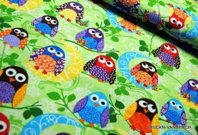 5489 Baumwolle What Hoot Eule Owl