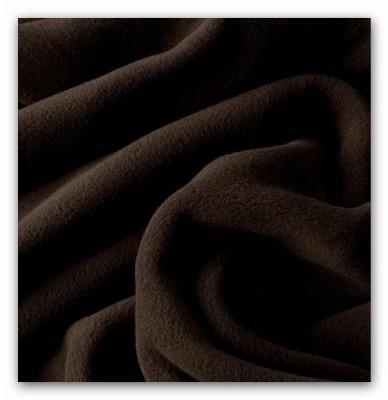 70321 Microfleece Thermo Fleece braun Sarnen