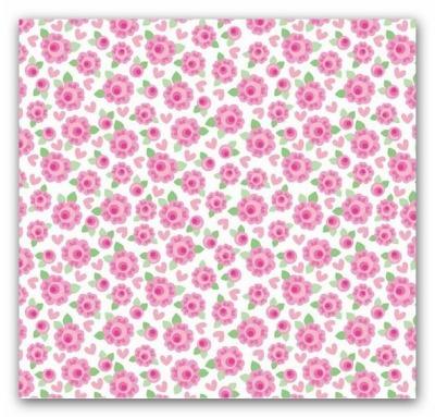 5531 Lovey Dovey Riley Blake USA Rosen Flower