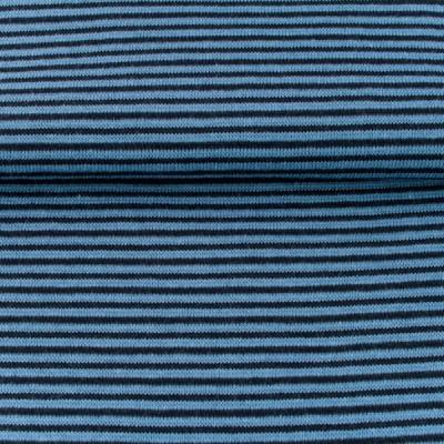 60638 Ringelbündchen Schlauchware jeansblau navy
