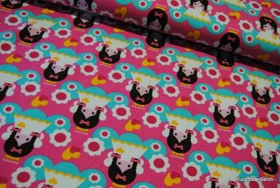 6630 Jersey Stretch Angel pink Schweden Girls