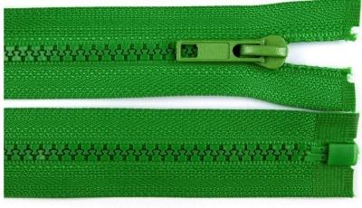 20229 Reißverschluss grün 60cm teilbar für Jacken