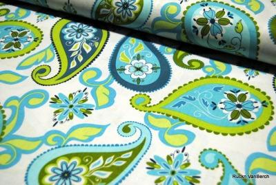 5765 Baumwolle Riley Blake Splendor blau türkis grün